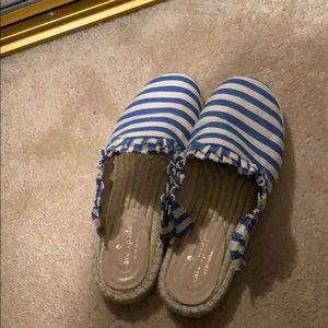 Kate Spade slip on espadrilles size 8.5